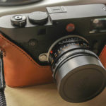 Leica M10 Camera Case in rich brown leather made by Classic Cases