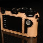 Leica M240 and M246 Camera case in tan leather